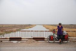 The world's longest irrigation canal