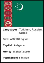 Turkmenistan Fact List
