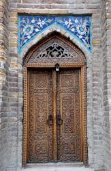 Carved doorway