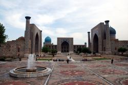 Samarqand's main square