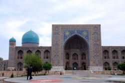 Another beautiful sight in Samarqand