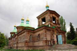 Russian cathedral in Karakol