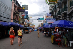 Khao San Road, backpacker district