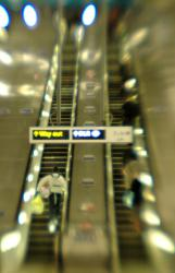 Canary Wharf Escalators