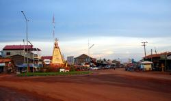 Anlong Veng after a late afternoon rain