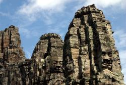 Yes, more faces of Bayon