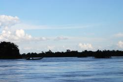 Across the Mekong to Don Det island