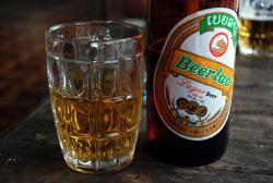 First taste of Beer Lao