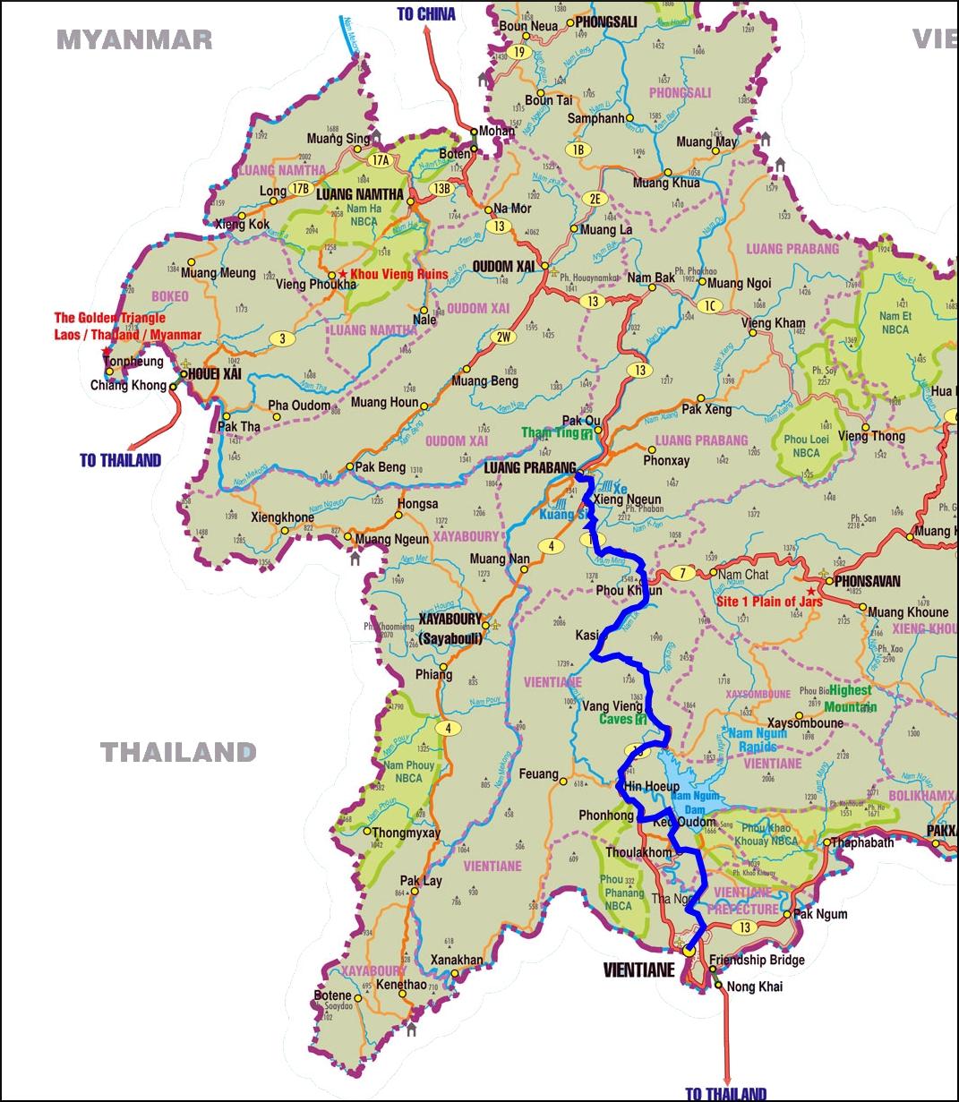 Cycling Tour Luang Prabang
