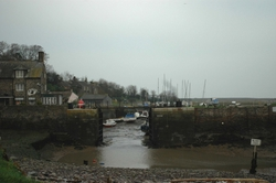 On Sunday morning we went to Porlock Weir, a small village in Exmoor National Park.