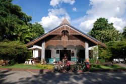 Bikes by our hotel for the night