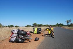 Our first Australian puncture