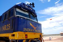 Indian Pacific engine