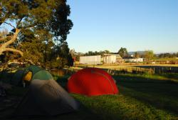 Free camping in Meander