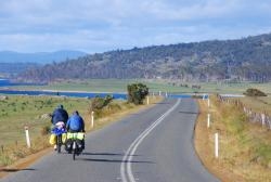 Wonderful cycling in Tasmania