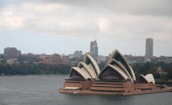 First view of the Opera House