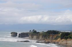 Cape Foulwind cliffs