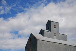 We like the look of these silos against the sky
