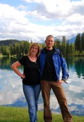 Andrew and Marlene by Beauvert Lake