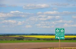 On the Yellowhead Highway