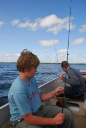 John & Andrew fishing