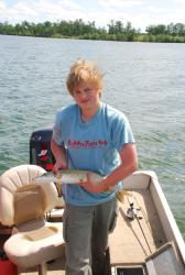 John, the top fisherman of the day