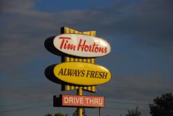 Timmies!!! The only thing worth riding the TCH for.