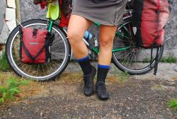Every cool cyclist wears waterproof socks.
