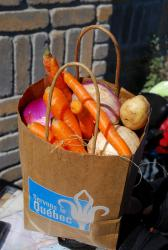 Quebec produce in a bag!