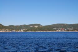 Arriving in Tadoussac