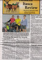 Deer River Newspaper Article
