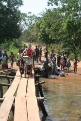 Rickety Bridges in Sierra Leone