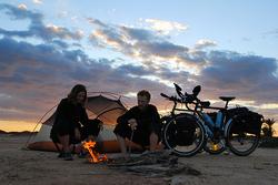 Free camping in Tunisia
