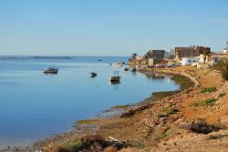 Beautiful coastline in Tunisia