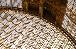 The very cool roof and windows of London Olympia