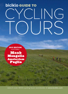 If you're looking for a bit of inspiration for your next bike tour, enter our contest to win a PDF copy of the Biciklo Guide To Cycling Tours Around The World. All you have to do is share a bike touring tip that you think others should know.