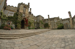 The Courtyard of Haddon Hall