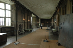 The long room where ladies took their exercise
