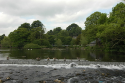 The river that runs through Bakewell