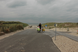 The beautiful dunes near Hoek van Holland