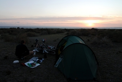 Camping by Almeria airport