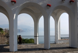 A nice archway in Nerja