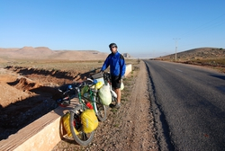On the N16 for our first full day in Morocco
