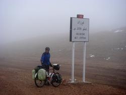 Col de Zad in fog