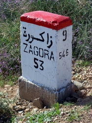 Moroccan road signs