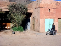 One of Zagora's hammams, very non-descript