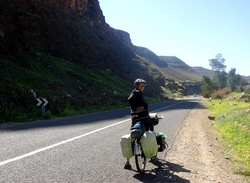 Heading north from Zagora