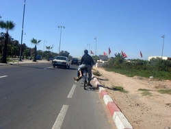 More top cyclists, in Agadir