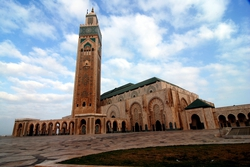 It is the world's second biggest mosque