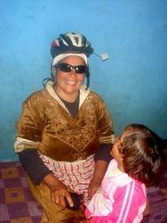 A future Tour de France cyclist??